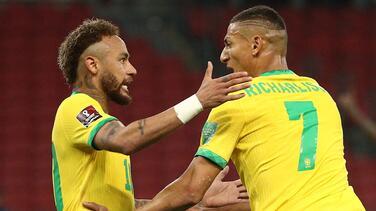 Richarlison revela que Neymar lo retó a que eligiera la '10' en Tokyo