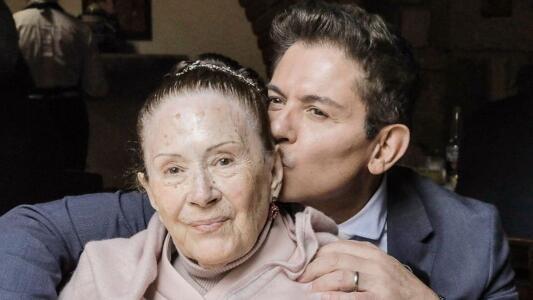 Muere la madre de Ernesto Laguardia: el actor dedica un triste mensaje