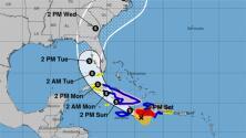 Con vientos de 70 mph y de manera desorganizada: así avanza la tormenta tropical Elsa