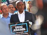 Eric Adams, el candidato demócrata que es el virtual próximo alcalde de la ciudad de Nueva York