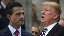 """NO. México NUNCA pagará por un muro. Atentamente, México"": mensaje de Peña Nieto a Trump"