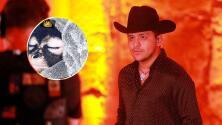 Christian Nodal en problemas con la justicia mexicana por poseer un mono araña bebé como mascota