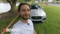 5 Minutos A Bordo del Jaguar XF P300 R-Dynamic 2021 | Univision A Bordo