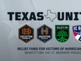 Equipos texanos de MLS lanzan fondo de ayuda para damnificados por Huracán Ida