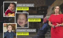 King Jay Dávila, James Chairez y Domenic Aguilar, los casos de abuso infantil que han marcado la historia reciente del condado Bexar