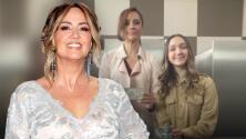 Andrea Legarreta se reencontró con su 'rival', la otra mamá de Nina Rubín