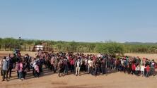 Así han sido las entregas masivas de indocumentados en la frontera de Arizona