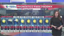 Fin de semana con calor y nublados ligeros en Arizona
