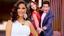 Ya como televidente, Ana Patricia reacciona a Enamorándonos con Karina Banda (Carlos Ponce tampoco se lo perdió)