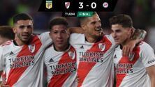 River golea a Argentinos Juniors y acaricia el título