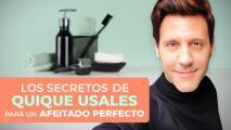 Los secretos de Quique Usales para un afeitado perfecto