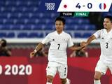Japón goleó y eliminó a la Francia de Gignac y Thauvin