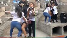 (Video) Graban a jóvenes 'perreando' sobre la tumba de su amiga que murió trágicamente