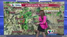 Alerta por nublados y tormenta severa en zonas del estado de Arizona
