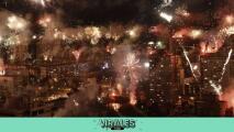 ¡Espectacular! Festejan 100 años del Zeljeznicar con puro fuego artificial