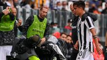 ¡En lágrimas !Dybala se lesiona y llora por no jugar la Champions