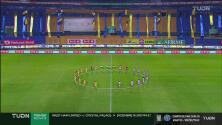 Toque de silencio previo a la final de la Liga MX Femenil
