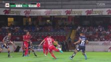 Veracruz estuvo cerca del 2-1 con volea de Ángel Reyna