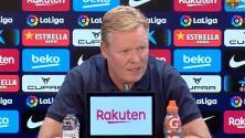 """Koeman llama """"oportunistas"""" a fans del Barcelona por criticarlo"""