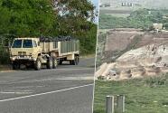 Guardia nacional depositó gomas usadas en terreno de Salinas y tras denuncia las retirará