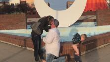 El videíto: Esta propuesta de matrimonio se pudo haber salvado por un pañal