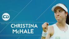 Christina McHale es una latina que triunfa en el mundo del tenis