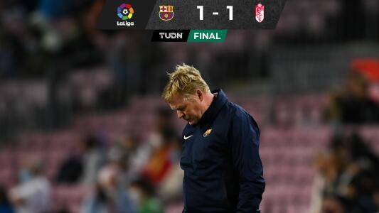 ¡Apenitas! Barcelona rescata empate ante un bravo Granada