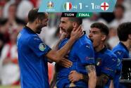 ¡Una final que tuvo de todo! Italia vencen a Inglaterra y se corona