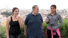 'Los Molina' se fueron a hacer ejercicios para bajar de peso por todo lo que comieron en Sevilla