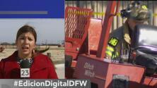 Trabajador sufre accidente laboral en Frisco