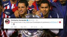 Contundente mensaje de 'Chicharito' tras triunfo de Chivas