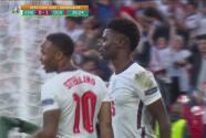 ¡Vibrante partido! Inglaterra empata 1-1 con autogol de Simon Kjaer