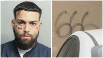 Queda libre bajo fianza un joven acusado de vandalizar vehículos, negocios y viviendas en Hialeah