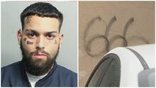 Hombre de Hialeah es acusado de cometer actos de vandalismo en casas, carros y negocios, durante 10 noches seguidas