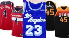 Estos son todos los jerseys de la NBA para la 2020-21