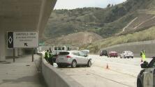 Una mujer murió y tres menores resultaron heridos tras un accidente vehicular en Sylmar