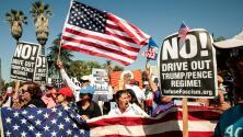 Inmigrantes protestan para pedir que no separen a las familias
