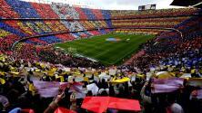 ¡Al 100! Clásico Barcelona vs. Real Madrid podrá tener lleno