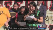 Funcionarios y pobladores de Bayview protestaron contra desalojos