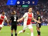 Con Álvarez los 90 minutos, Ajax está imparable y venció sin contratiempos al Besiktas