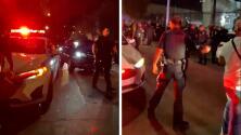 Dos hombres son baleados afuera de un popular club nocturno en el Alto Manhattan