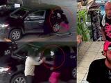Así pelea un hombre para que no le roben su auto en una gasolinera de Houston