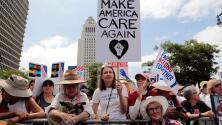 De Los Ángeles a Nueva York: manifestantes urgen a Trump a reunificar a las familias inmigrantes