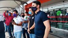 El técnico Beñat San José llegó a Mazatlán lleno de ilusión