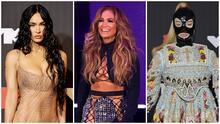 El 'naked dress' de Megan Fox, la minifalda de JLo y otros 'looks' que acapararon miradas en los MTV VMA's