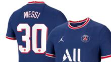 ¡Qué regalo! Primer ministro francés dio al Papa la playera de Messi del PSG