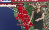Emiten un aviso por riesgo de incendio en Sacramento