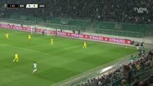 ¡GOL!  anota para SK Rapid Wien. Marco Grüll