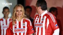Angélica Fuentes presume logros durante su etapa con Chivas