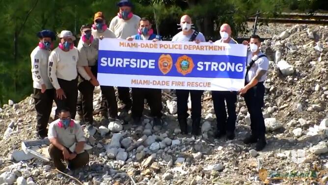 Policía de Miami-Dade publica emotivo video sobre los esfuerzos para salvar vidas en la tragedia de Surfside